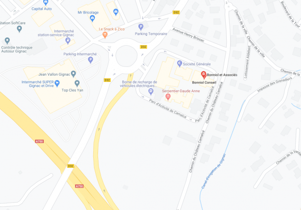 GOOGLE MAP GIGNAC
