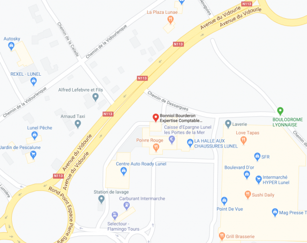 GOOGLE MAP LUNEL